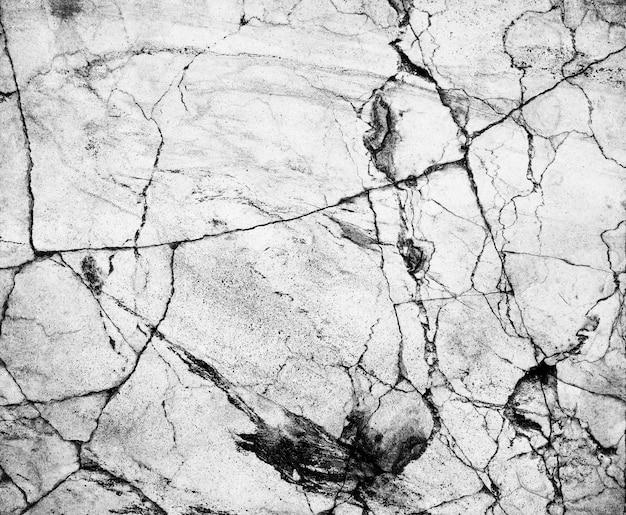 背景デザインのための抽象的な自然の白黒または灰色の大理石。