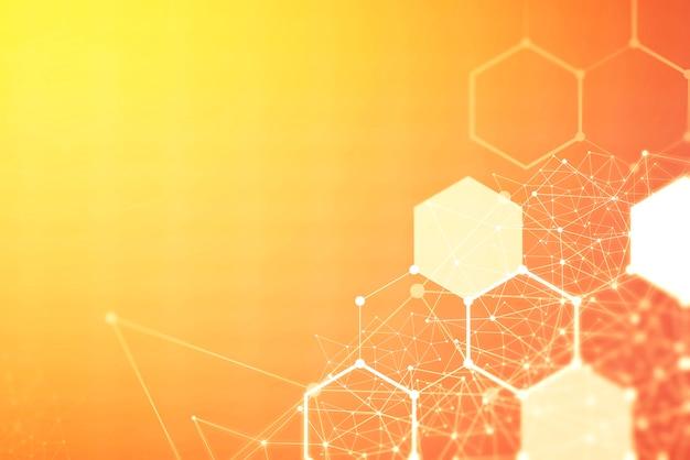 Концепция предпосылки технологии соединения беспроводной сети.