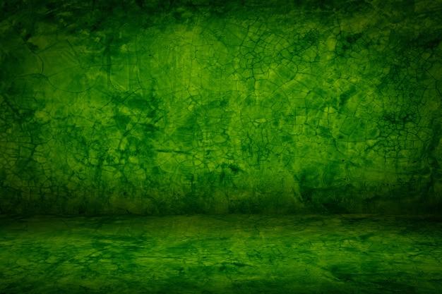 Зеленый гранж цемент