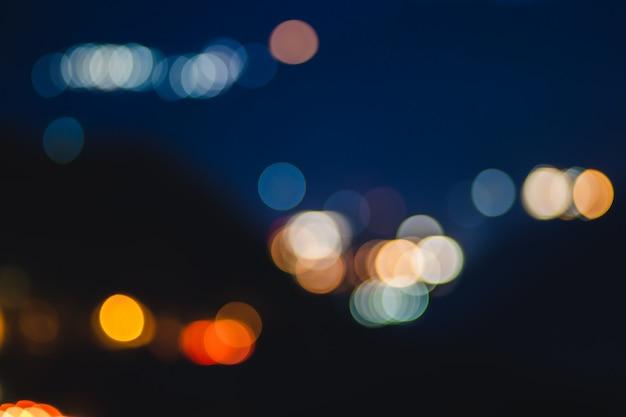 ヴィンテージカラフルなボケ味と柔らかい背景をぼかした写真