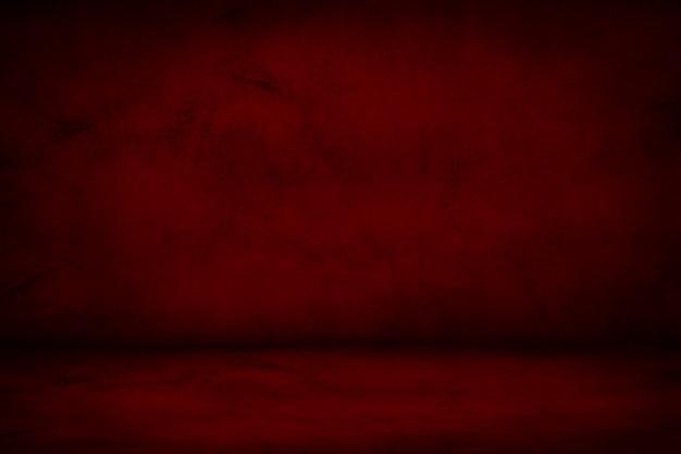 濃い赤と茶色のスタジオの背景