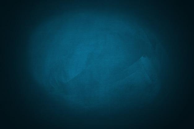 青い黒板壁テクスチャ背景