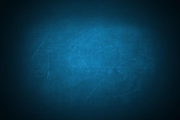 ダークブルーグランジテクスチャ黒板背景の背景