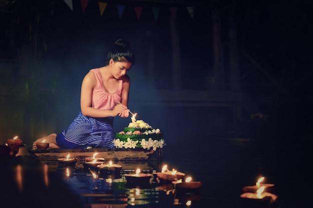 Традиционный фестиваль лой кратонг