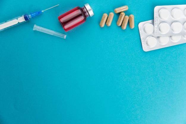 注射と薬の薬瓶