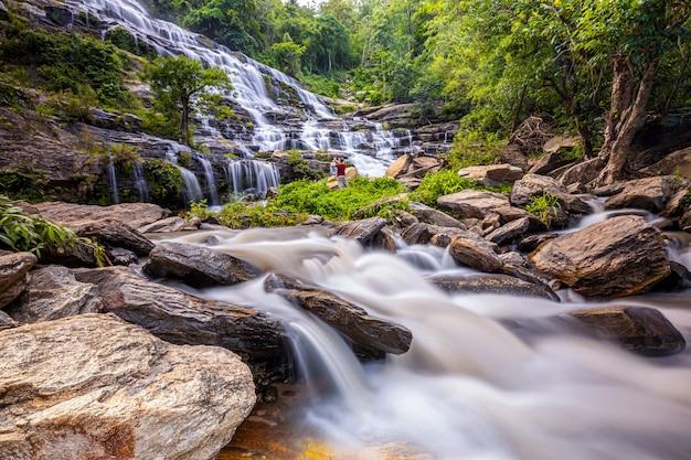 メーヤ滝、チェンマイ、タイ