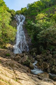 滝のある自然の風景