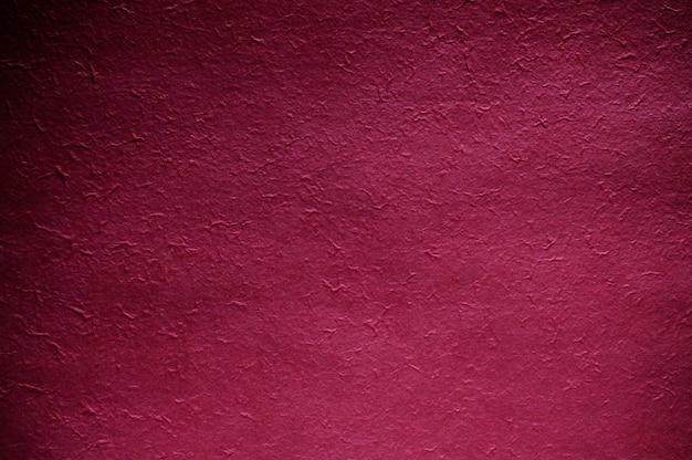 赤い紙のテクスチャ。