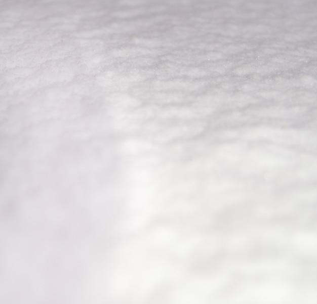 白い雪のテクスチャ