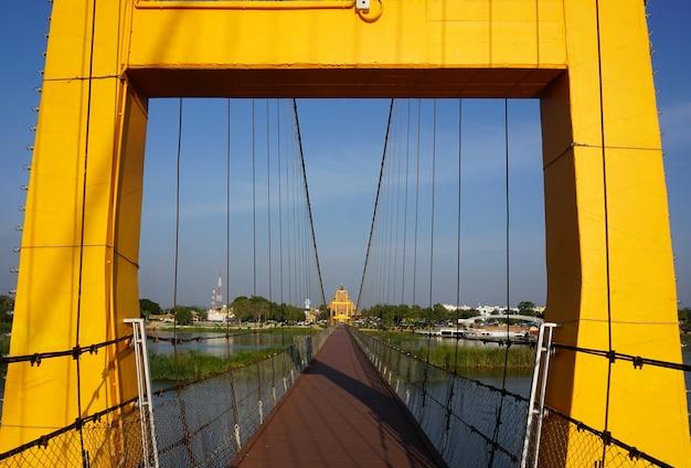 タク省の吊橋