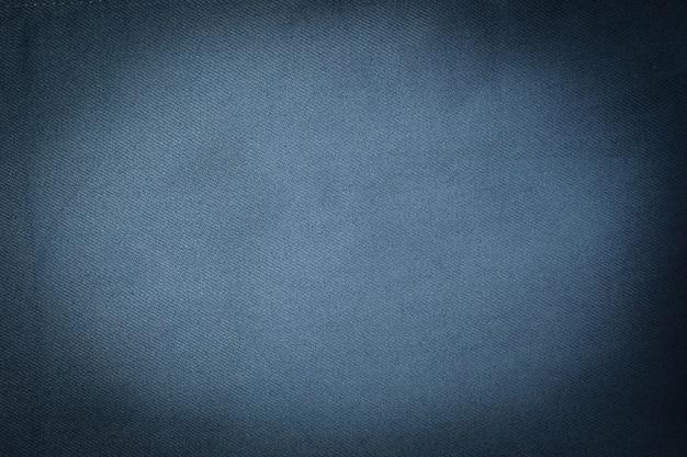 青の生地のキャンバスのテクスチャ