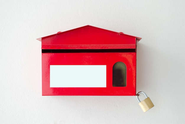 赤いメールボックス