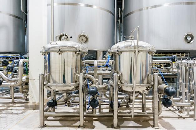 Смесительный резервуар для фармацевтической фабрики на производственной линии