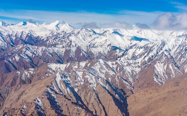 雲の下のヒマラヤ山脈