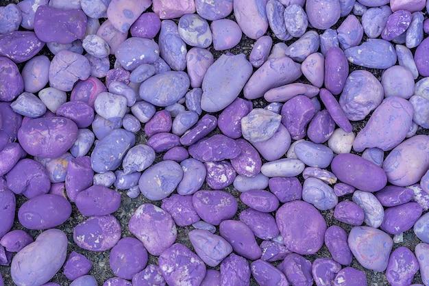 Старый окрашенный фиолетовый камень для фона