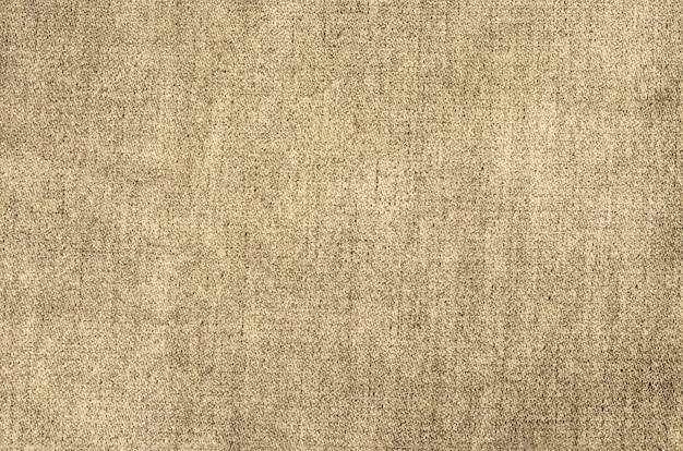 抽象的なブラウンヴィンテージ袋テクスチャ背景