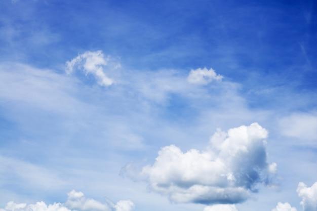 背景の雲と空のテクスチャ