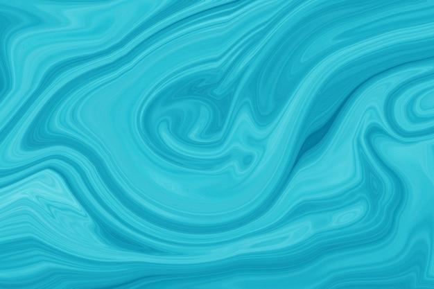 大理石の美しい絵の具の抽象芸術