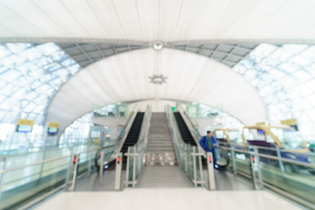 Отъезд терминала в аэропорту