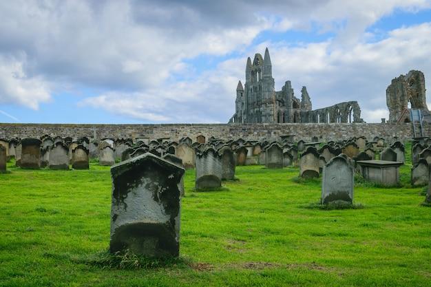 ウイットビーの修道院墓地
