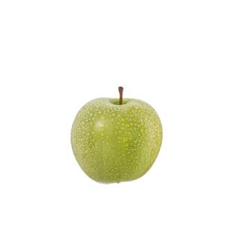 水滴と青リンゴ。