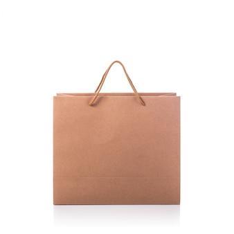 茶色の紙袋。