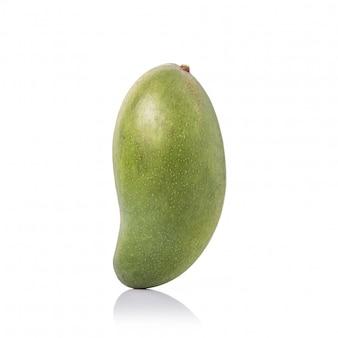 新鮮なグリーンマンゴー。