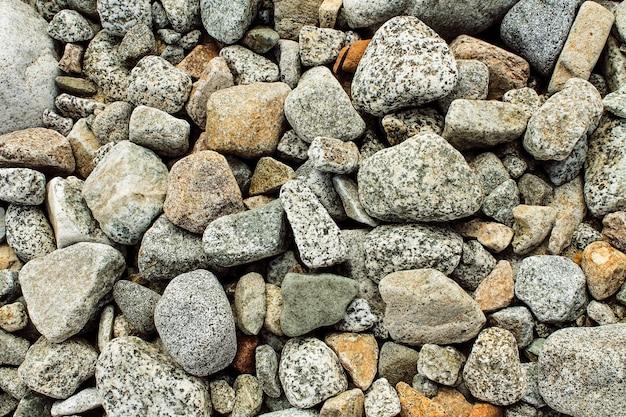 川の石のテクスチャ