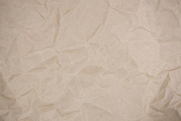 折り畳まれた茶色の紙の背景