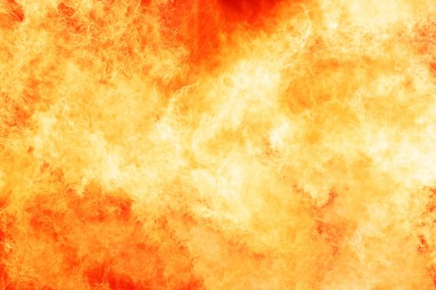 熱い火の炎
