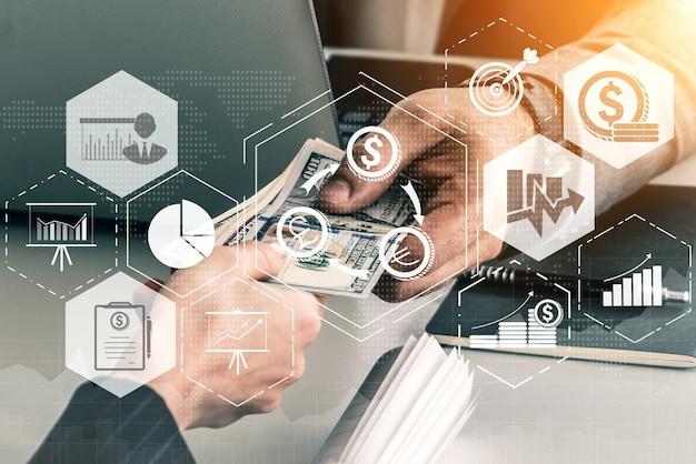 金融および金銭取引技術