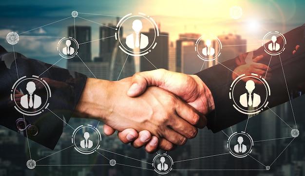 人的資源と人のネットワーク