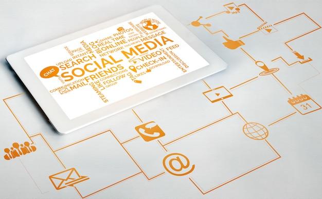 ソーシャルメディアと人々のネットワーク技術