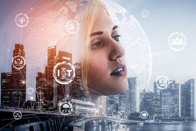 モノのインターネットと通信技術