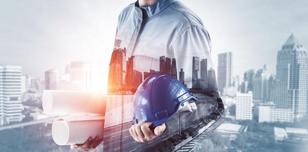 将来の建物建設工学プロジェクト。