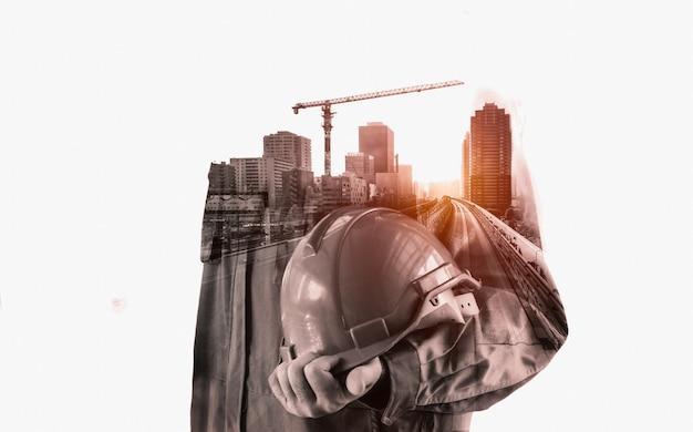 Будущий проект строительства здания.