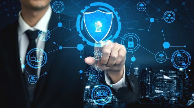 Концепция кибербезопасности и защиты цифровых данных