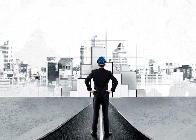 都市の市民計画と不動産開発。