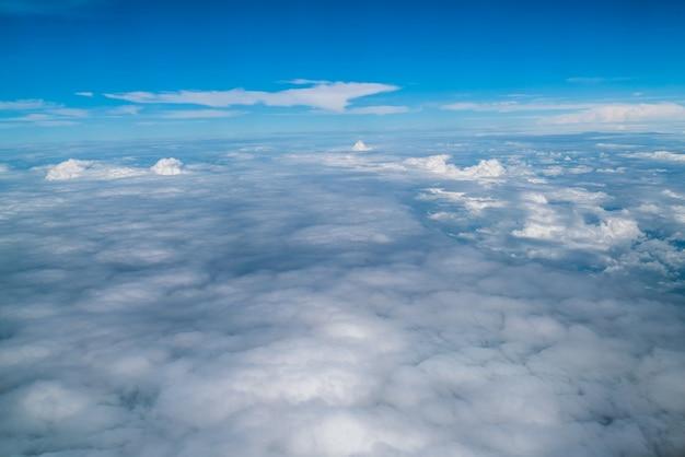 Небо и облака с самолета