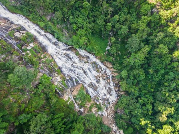 航空写真から見た前屋滝