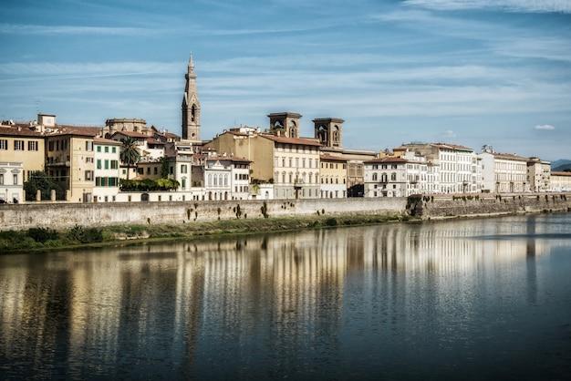 フィレンツェの旧市街-イタリア
