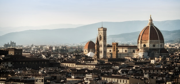 フィレンツェのフィレンツェ大聖堂-イタリア