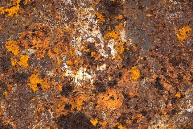 抽象的な茶色の錆びた金属風化