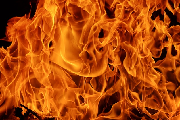 炎火炎の背景とテクスチャ