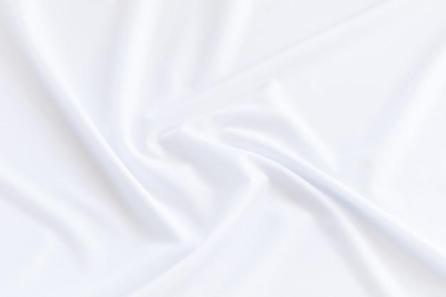 白い布の背景とテクスチャ、白いファブリックの抽象的な