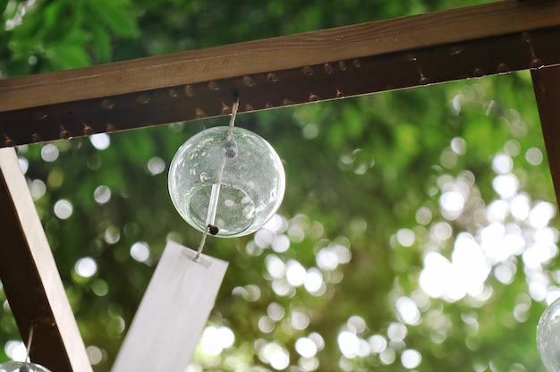 川越市のガラス風チャイム。