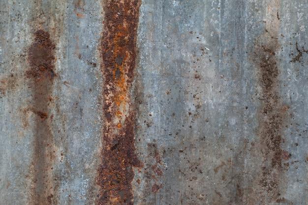 さびた金属屋根の質感の抽象的な背景