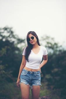 セクシーなアジアの女の子