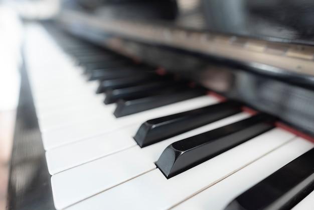 ピアノキーボードの背景