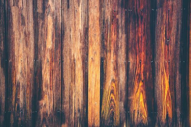 古い木の板テクスチャ背景、ビンテージフィルター画像